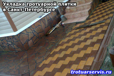 Цены на укладку плитки в Санкт-Петербурге