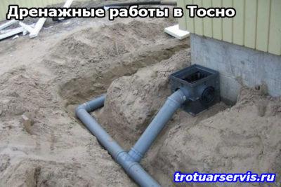 Дренажная система: Тосно, Ленинградская область