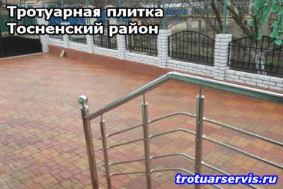 Укладка тротуарной плитки в Тосненском районе