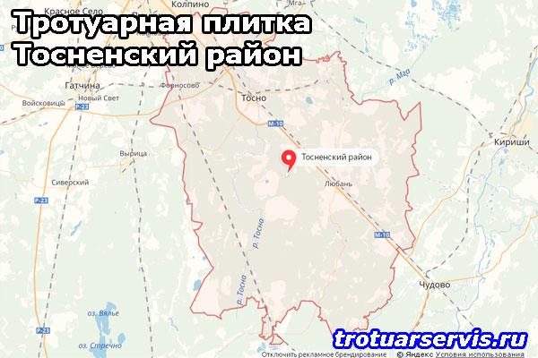 Тротуарная плитка Тосненский район Ленинградской области