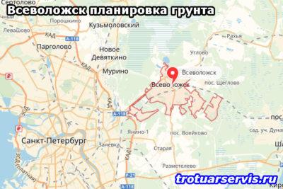 Всеволожск планировка грунта (Всеволожский район Ленинградская область)
