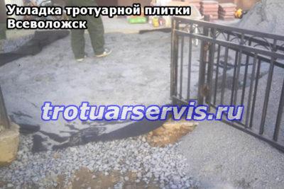 Укладка тротуарной плитки Всеволожск: подготовка к укладке