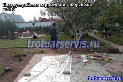 Благоустройство территории «под ключ» в СПб и ЛО