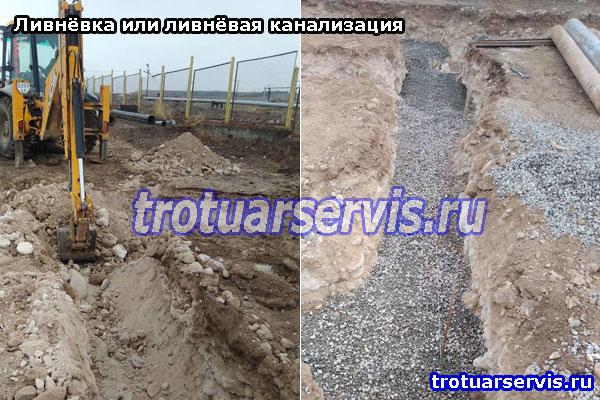 Фото примеры ливнёвки: СПб и Ленинградская область