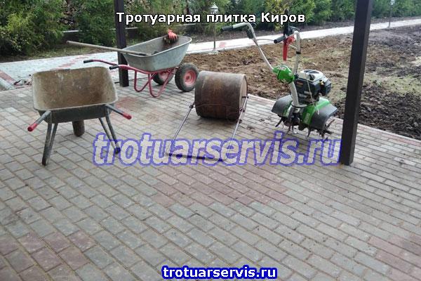Укладка тротуарной плитки Киров